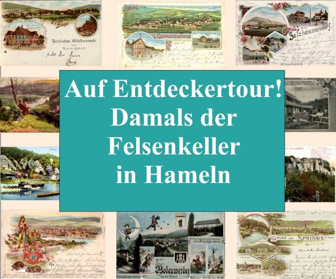 Das Gasthaus Felsenkeller in Hameln