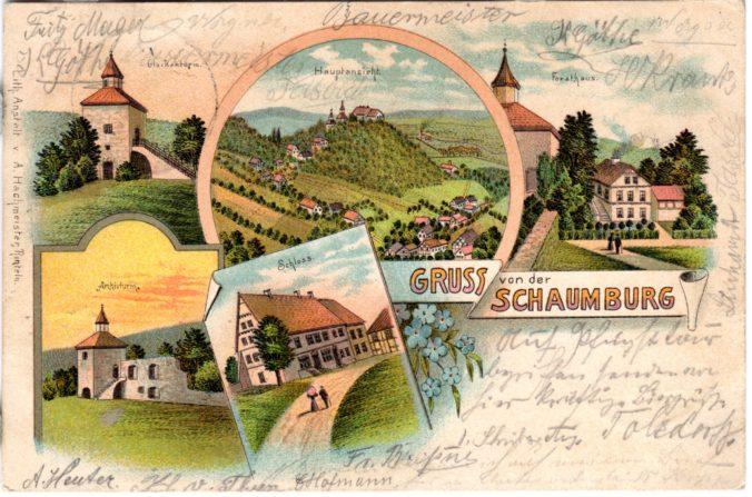 Schaumburg und Paschenburg, Rinteln
