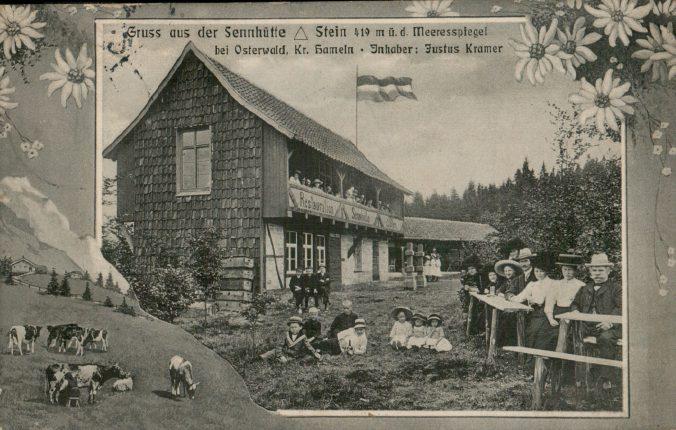 Die Sennhütte im Osterwald