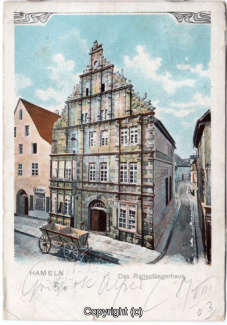 3650A-Hameln1573-Osterstrasse-Rattenfaengerhaus-Litho-1903-Scan-Vorderseite.jpg