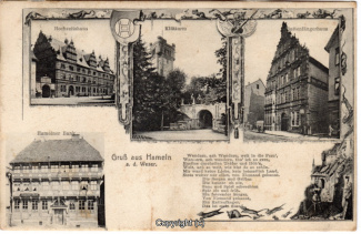 0330A-Hameln1429-Multibilder-Ort-Rattenfaenger-Gedicht-1907-Scan-Vorderseite.jpg