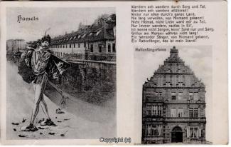 0400A-Hameln1438-Multibilder-Ort-Rattenfaenger-Gedicht-1913-Scan-Vorderseite.jpg