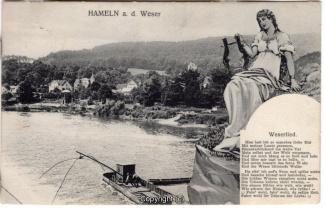 8020A-Hameln1672-Wehr-Lachsfang-Loerely-Weserlied-1909-Scan-Vorderseite.jpg