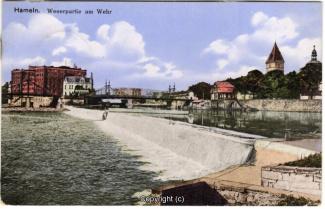 8230A-Hameln1689-Wehr-Weserbruecke-1915-Scan-Vorderseite.jpg
