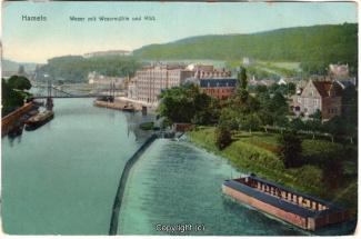 8390A-Hameln1696-Wehr-unten-Badeanstalt-Wesermuehle-Scan-Vorderseite.jpg