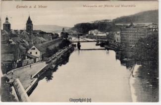 8430A-Hameln1701-Wehr-unten-Wesermuehle-1916-Scan-Vorderseite.jpg