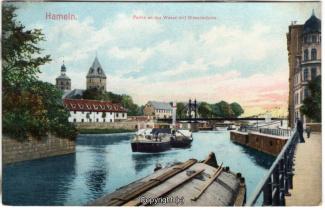 8440A-Hameln1702-Wehr-unten-Wesermuehle-1908-Scan-Vorderseite.jpg