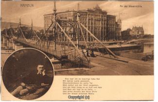 8510A-Hameln1709-Multibilder-Weserbruecke-Wesermuehle-1912-Scan-Vorderseite.jpg