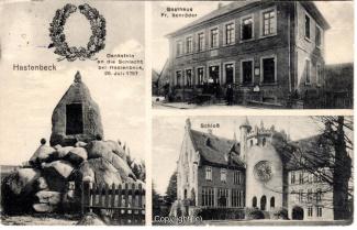 0020A-Hastenbeck001-Multibilder-Schloss-Denkmal-Gasthaus-Schroeder-1914-Scan-Vorderseite.jpg