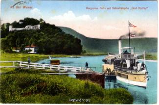 0470A-Polle022-Panorama-Burgberg-Weser-Raddampfer-Schiffsanleger-1922-Scan-Vorderseite.jpg