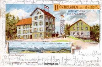 0070A-Hochblauen002-Multibilder-Hotel-Blauenblick-Litho-1901-Scan-Vorderseite.jpg