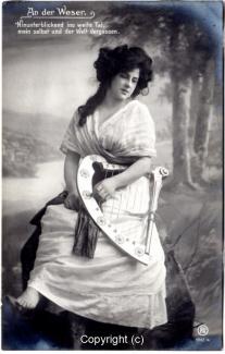 0320A-Romantik009-An-der-Weser-Frau-Instrument-Text-oben-1909-Scan-Vorderseite.jpg