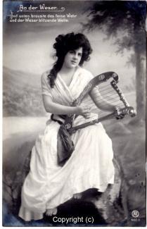 0350A-Romantik012-An-der-Weser-Frau-Instrument-Text-oben-1909-Scan-Vorderseite.jpg