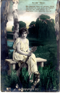 0910A-Romantik024-An-der-Weser-Frau-Instrument-Text-oben-1917-Scan-Vorderseite.jpg