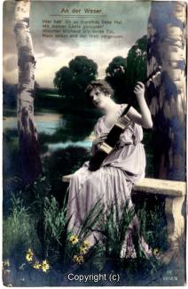 0920A-Romantik025-An-der-Weser-Frau-Instrument-Text-oben-1917-Scan-Vorderseite.jpg