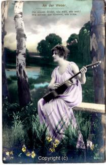 0940A-Romantik027-An-der-Weser-Frau-Instrument-Text-oben-1917-Scan-Vorderseite.jpg