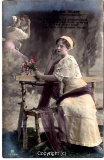 1010A-Romantik029-An-der-Weser-Frau-Portrait-oben-links-Text-oben-1912-Scan-Vorderseite.jpg
