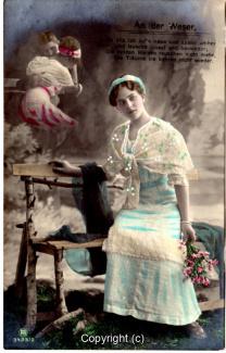 1020A-Romantik030-An-der-Weser-Frau-Portrait-oben-links-Text-oben-1912-Scan-Vorderseite.jpg