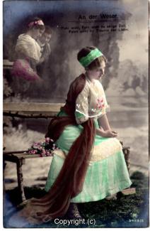 1040A-Romantik032-An-der-Weser-Frau-Portrait-oben-links-Text-oben-1912-Scan-Vorderseite.jpg