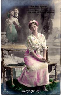 1060A-Romantik034-An-der-Weser-Frau-Portrait-oben-links-Text-oben-1912-Scan-Vorderseite.jpg