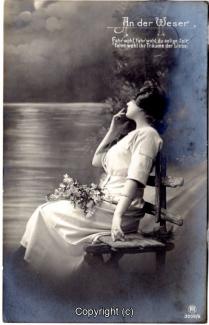 1160A-Romantik040-An-der-Weser-Frau-Text-oben-rechts-1912-Scan-Vorderseite.jpg