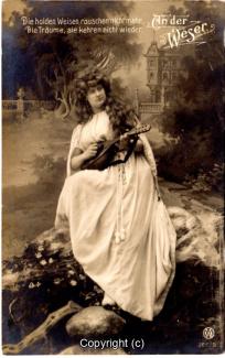 1410A-Romantik045-An-der-Weser-Frau-Instrument-Text-oben-1907-Scan-Vorderseite.jpg