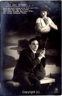 2710A-Romantik081-An-der-Weser-Mann-Instrument-Portrait-Frau-Text-oben-1913-Scan-Vorderseite.jpg