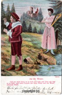 3120A-Romantik089-An-der-Weser-Frau-Kind-Text-unten-Litho-Scan-Vorderseite.jpg