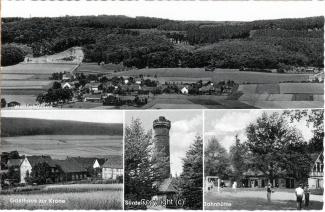 5100A-Welliehausen003-Multibilder-Gasthaus-Zur-Krone-Panorama-Suentelturm-Jahnhuette-Scan-Vorderseite.jpg