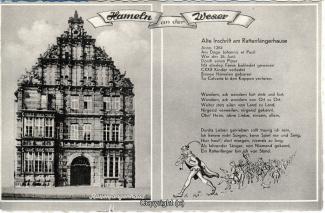 2300A-Hameln1792-Multibilder-Rattenfaengerhaus-Inschrift-Rattenfaenger-1971-Scan-Vorderseite.jpg
