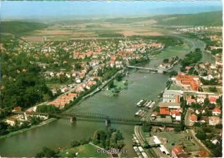 5405A-Hameln1931-Panorama-Weser-Luftbild-Vorderseite.jpg