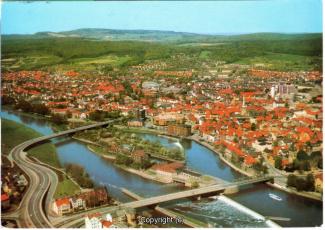 5415A-Hameln1933-Panorama-Weser-Luftbild-1996-Vorderseite.jpg